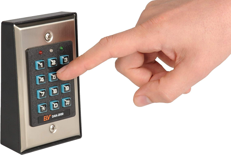 ELV DAK 2000 acceso mediante introducci/ón de un c/ódigo Sistema de cierre digital