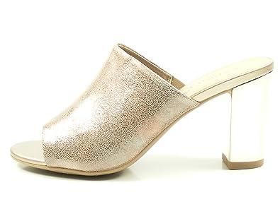Caprice 9-27213-30 Damen Pantoletten Sandalen Clogs, Schuhgröße:38, Farbe:Braun