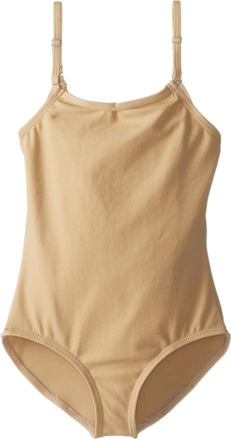 Capezio Big Girls Classics Camisole Leotard with Adjustable Straps