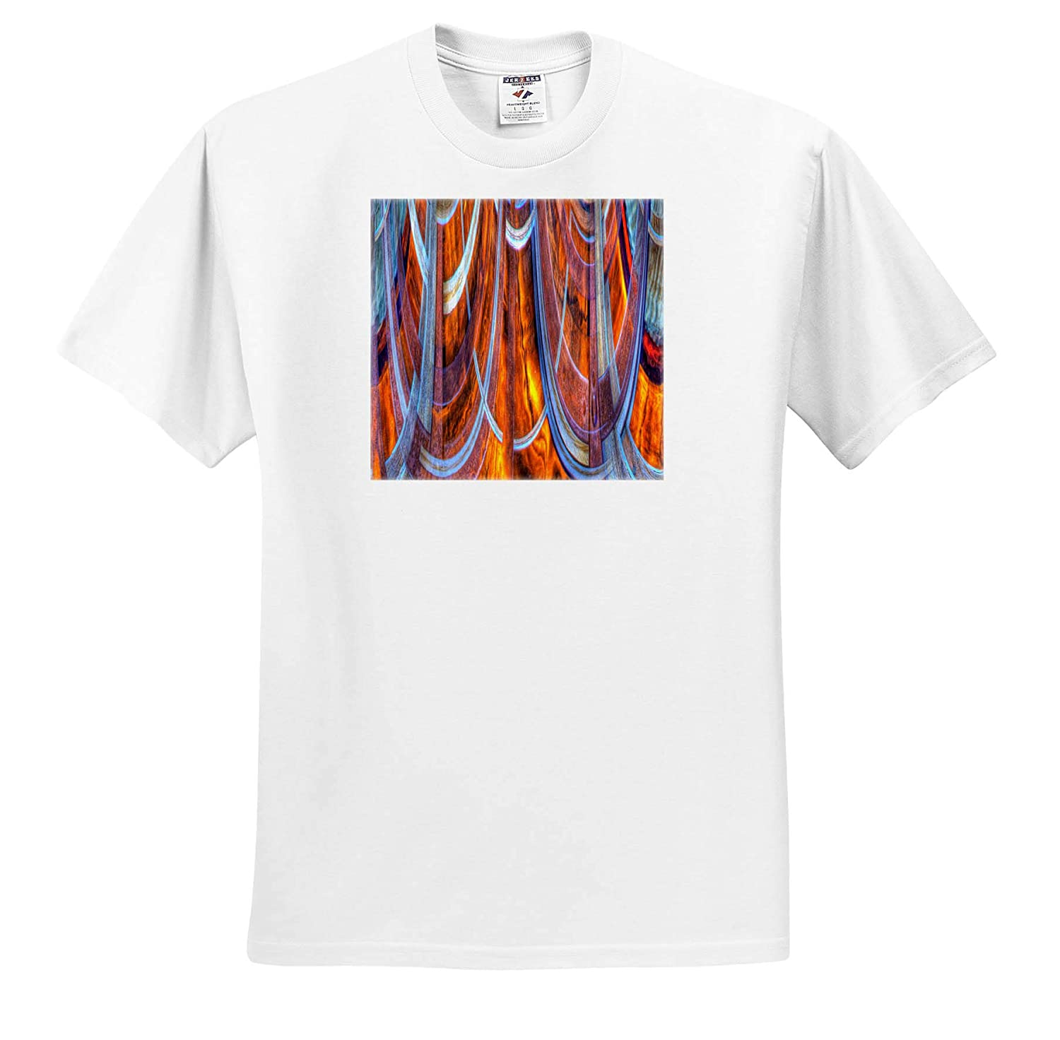 Abstracts ts/_314623 California - Adult T-Shirt XL Bodie State Park 3dRose Danita Delimont Abstract of Window USA