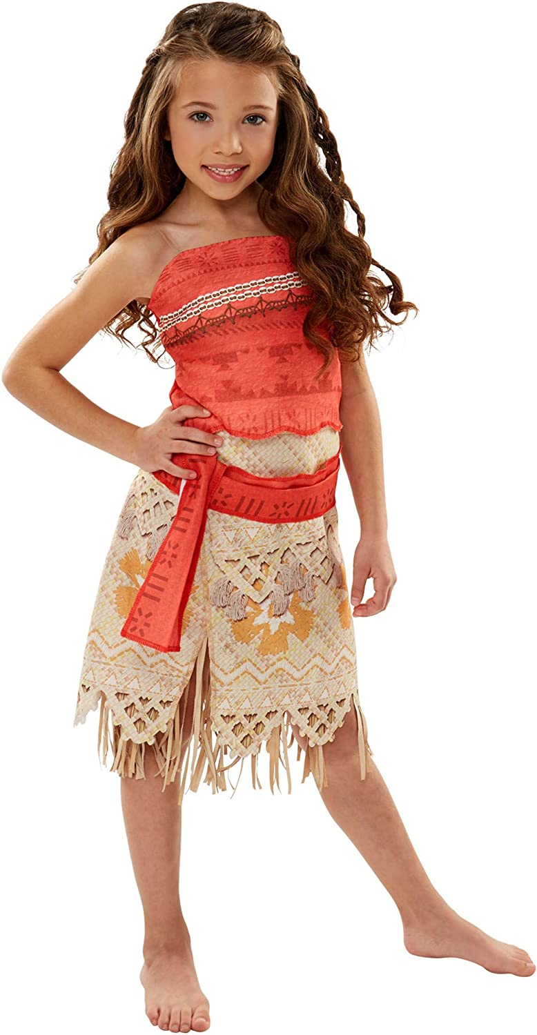 Disney Moana Girls Adventure Outfit   Size 4-6X