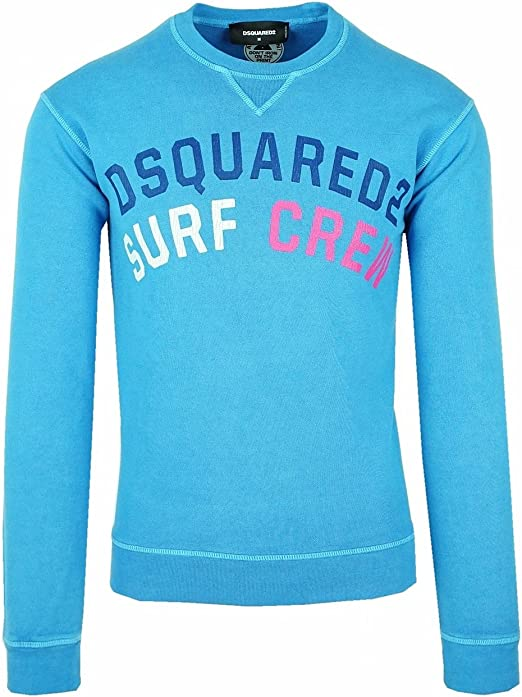 DSQUARED2 Grey Jumper Sweatshirt Medium M S74GU0176 Mint Condition Italy