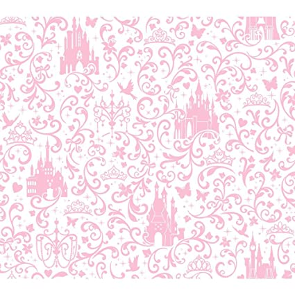 Nilaya Disney Small Scroll With Castle Wallpaper Paper 822 96 Cm