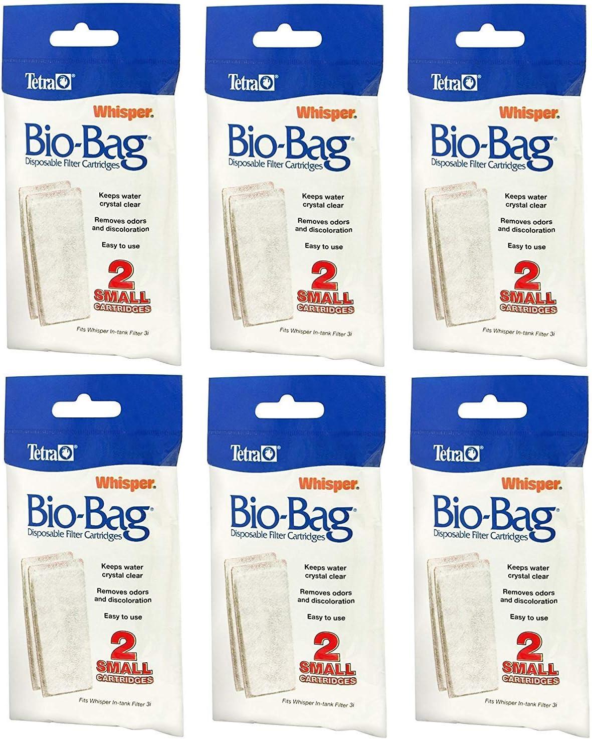 Tetra Whisper Assembled Bio-Bag Filter Cartridges Small 4-Count by Tetra