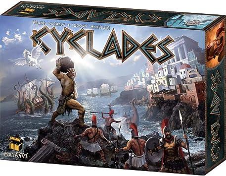 Matagot - Cyclades, Juego de mesa de estrategia - de 2 a 5 jugadores, ed. en español: Amazon.es: Juguetes y juegos