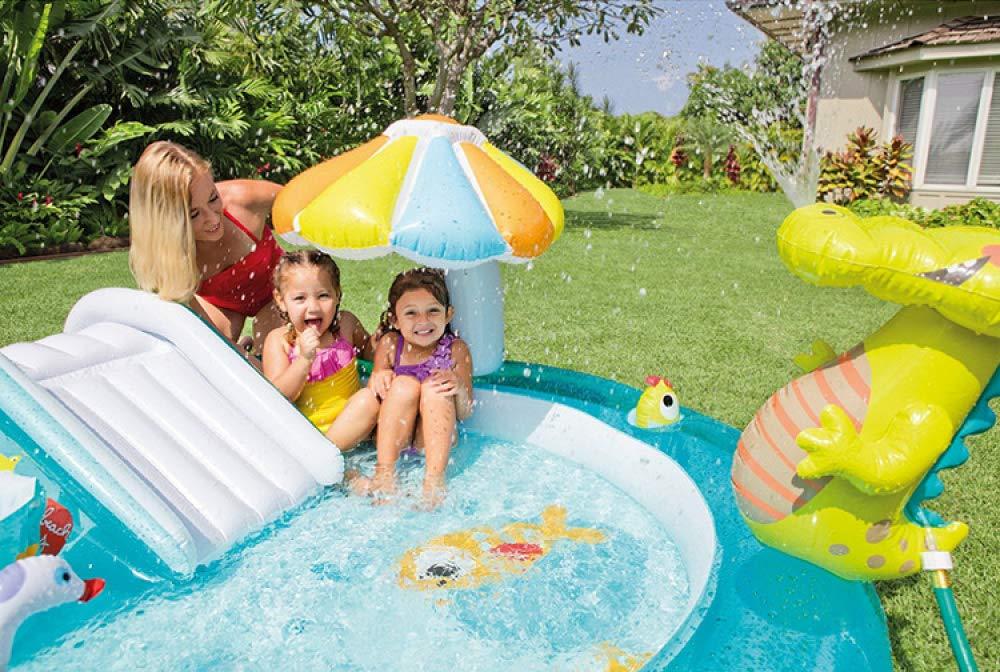 LDIUY Piscina Hinchable Piscinas Inflable para Niños Bañera de ...