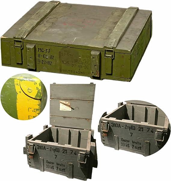 LS Diseño Militar Caja Munitions munición Caja Caja de madera caja ...