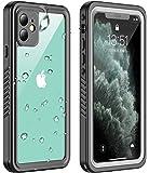 iPhone 11 ケース 防水 ケース 耐衝撃ケース 全面保護 米軍MIL規格取得 指紋認識対応 Qi充電対応 超軽量 塵・キズ·落下防止 高耐久ケース アイフォン11 ケース 6.1インチ対応 (iPhone 11)