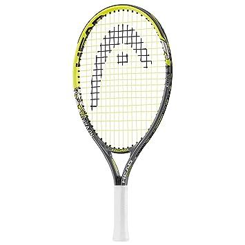 Head Novak 19 Junior Tennis Racket Green Yellow Rh232434 S05 L0
