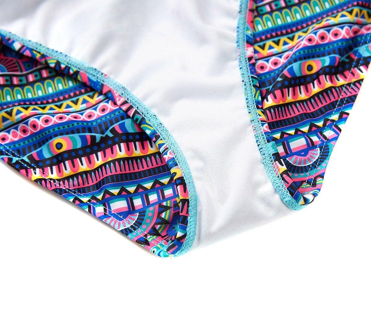 beautyin Girls Mermaid Scale Swimwear One Piece Adjustable Straps Bathing Suit