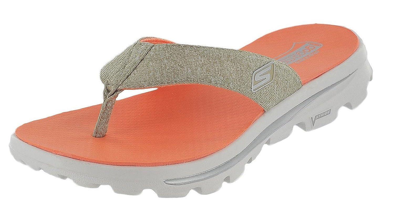 Taupe Skechers Femme Gowalk Move Solstice Sandales de Marche