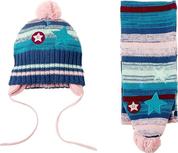Tuc Tuc 38485, Set de bufanda, gorro y guantes para Niñas, Multicolor One