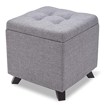 Pleasant Amazon Com Foot Stool Rest Ottoman Cube Storage Boxes Salon Inzonedesignstudio Interior Chair Design Inzonedesignstudiocom