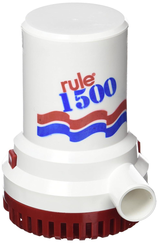 Rule 29 – 02 Heavy Duty Pumpen-Schmutzwasserpumpe Wasserdicht, 12 V, 1.500 g/h, 5.670 L/H, 28 mm