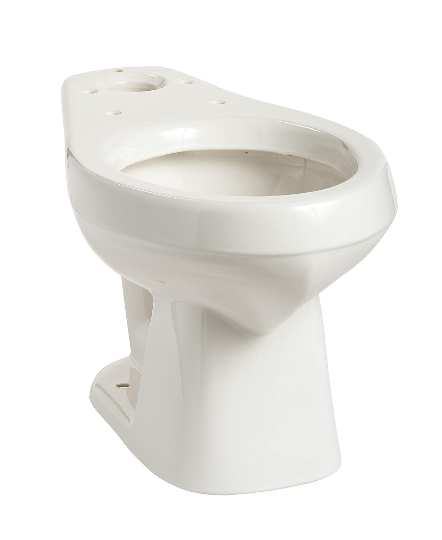 Mansfield 135WHT Alto Elongated Front Toilet Bowl, White Mansfield Plumbing Prod
