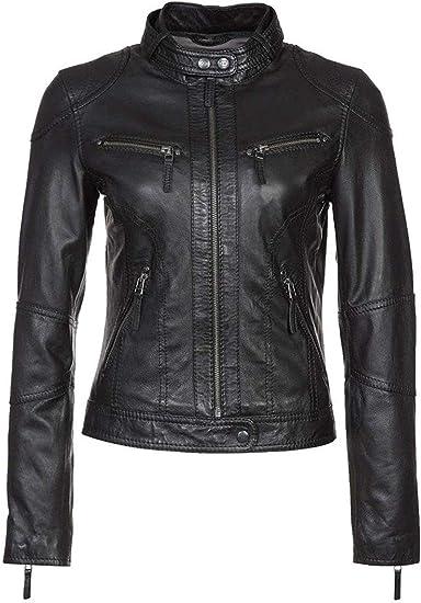 Mens Real Black Genuine Leather Jacket Motorbike Jacket Motorcycle Biker Club Casual Jacket