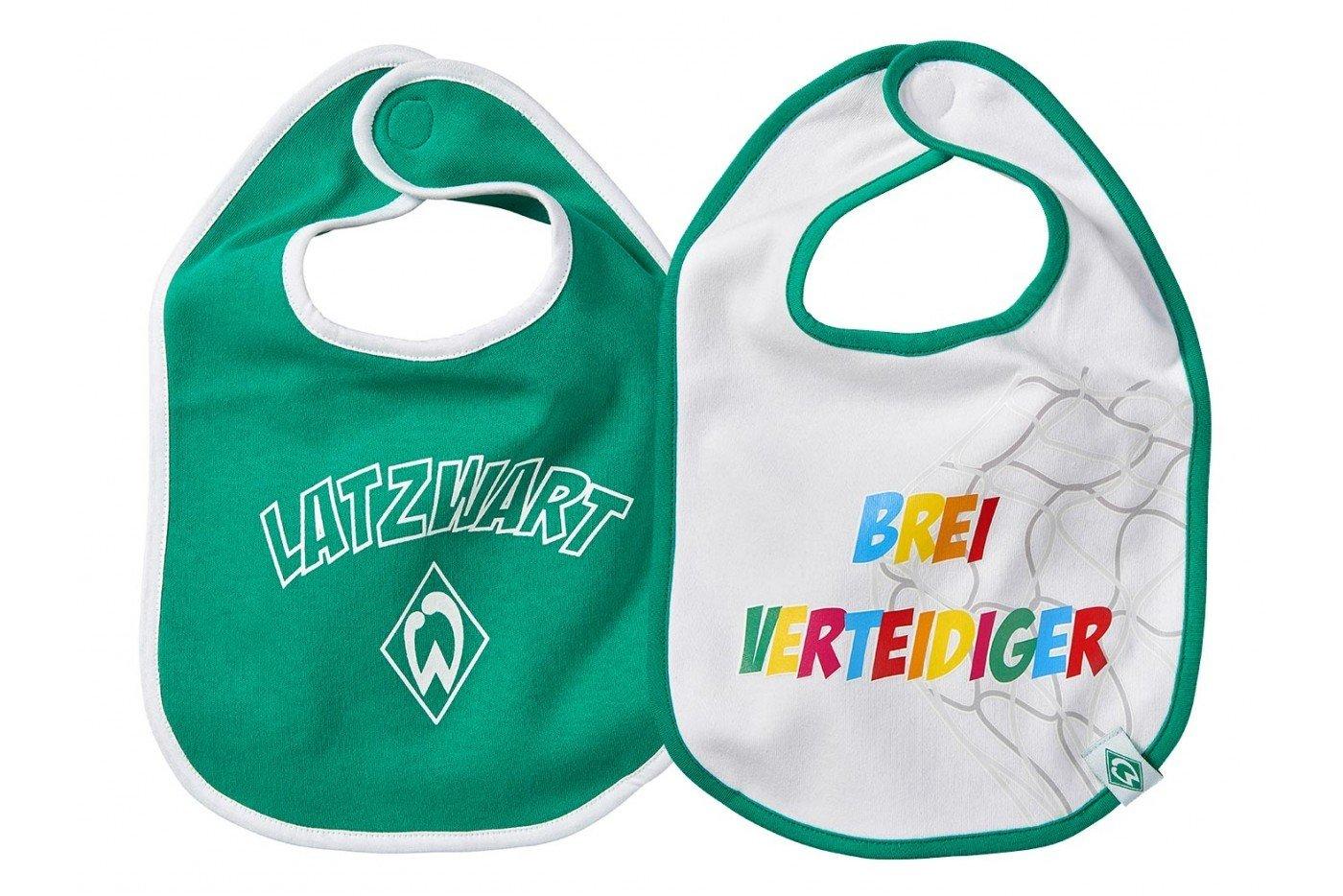SV Werder Bremen Lätzchen 2-er Set Grün-Weiß