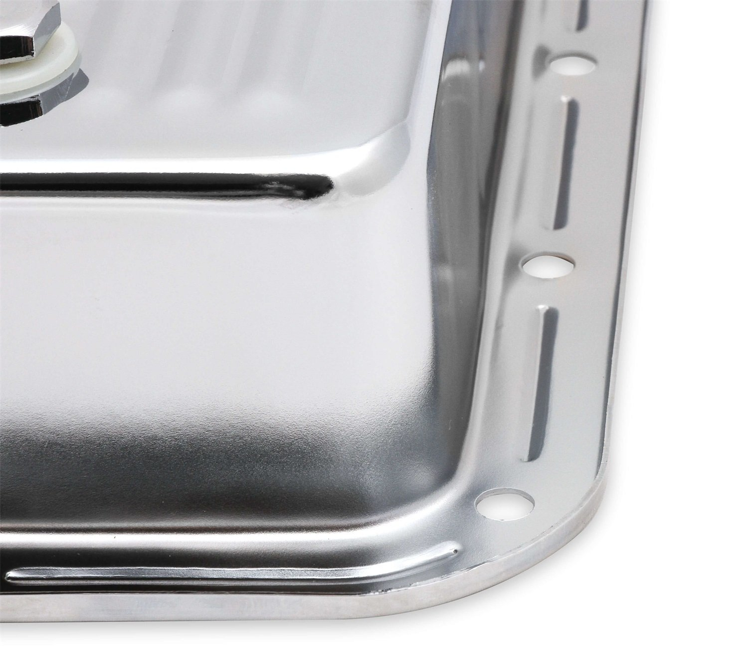 MR GASKET 9768CMRG Chrome Automatic Transmission Oil Pan Gm 200-4R