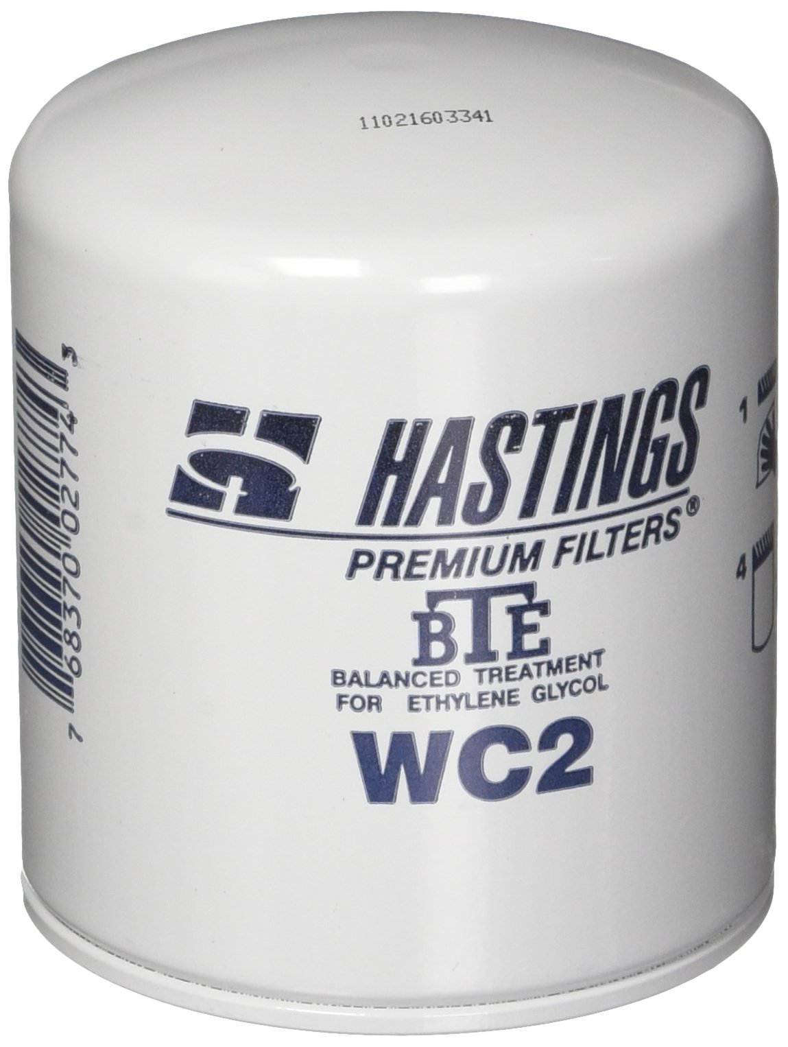 Hastings WC2 Coolant Spin-On Filter Filter with BTE Formula