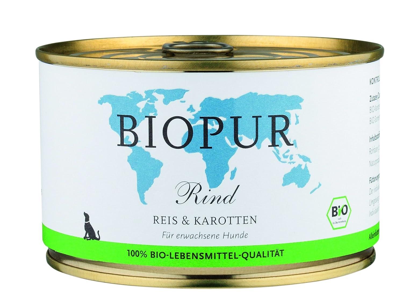 BIOPUR [Pack of 12 x 400g Dog Food 400G Gluten Free