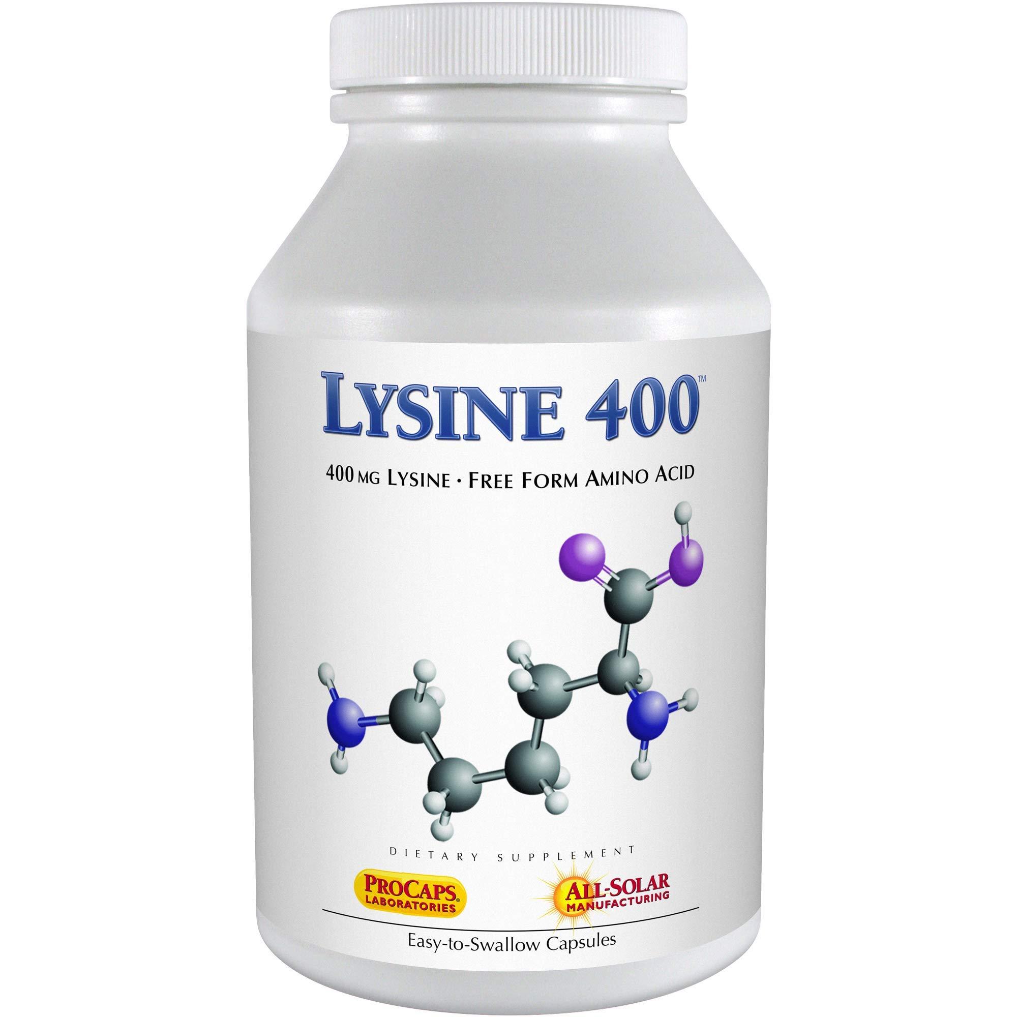 Andrew Lessman Lysine-400, 360 Capsules by Andrew Lessman