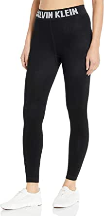 Calvin Klein Women's Modern Cotton Logo Legging, black