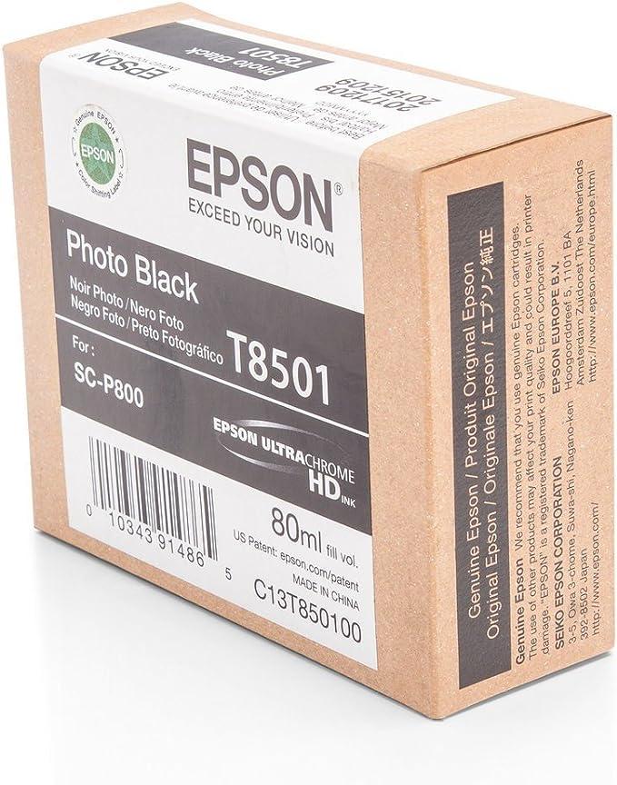 Epson Original C13t850100 T8501 Für Surecolor Sc P Elektronik