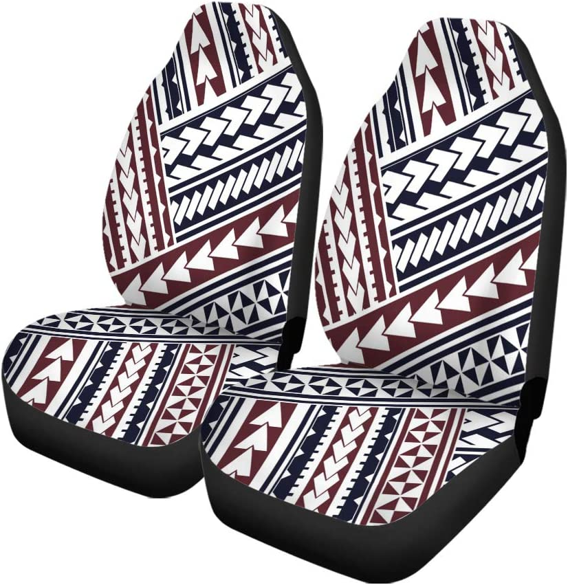 Semtomn Set of 2 Car Seat Covers Gray Camoflage Camouflage Modern Abstract Military Light Grey Pattern Universal Auto Front Seats Protector Fits for Car,SUV Sedan,Truck
