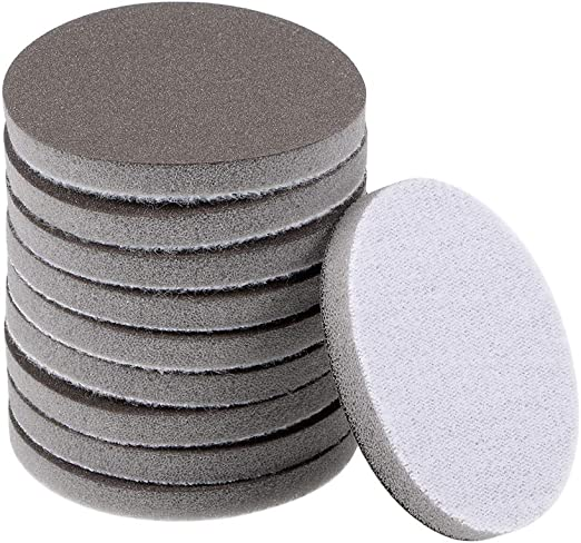 "Non-woven Abrasive Discs Hook and Loop Backed 2/"" 50mm   400 Grit"