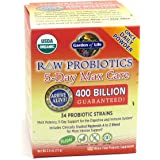 Garden of Life - Raw Probiotics 5-Day Max Care 34 Probiotic Strains - 2.4 oz.