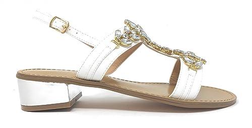 GARDINI Sandalo col Tacco Moda Positano Donna  Amazon.it  Scarpe e borse 36c289b47f4