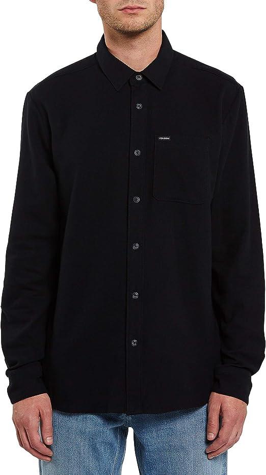 Volcom Caden - Camisa de manga larga con botones para hombre