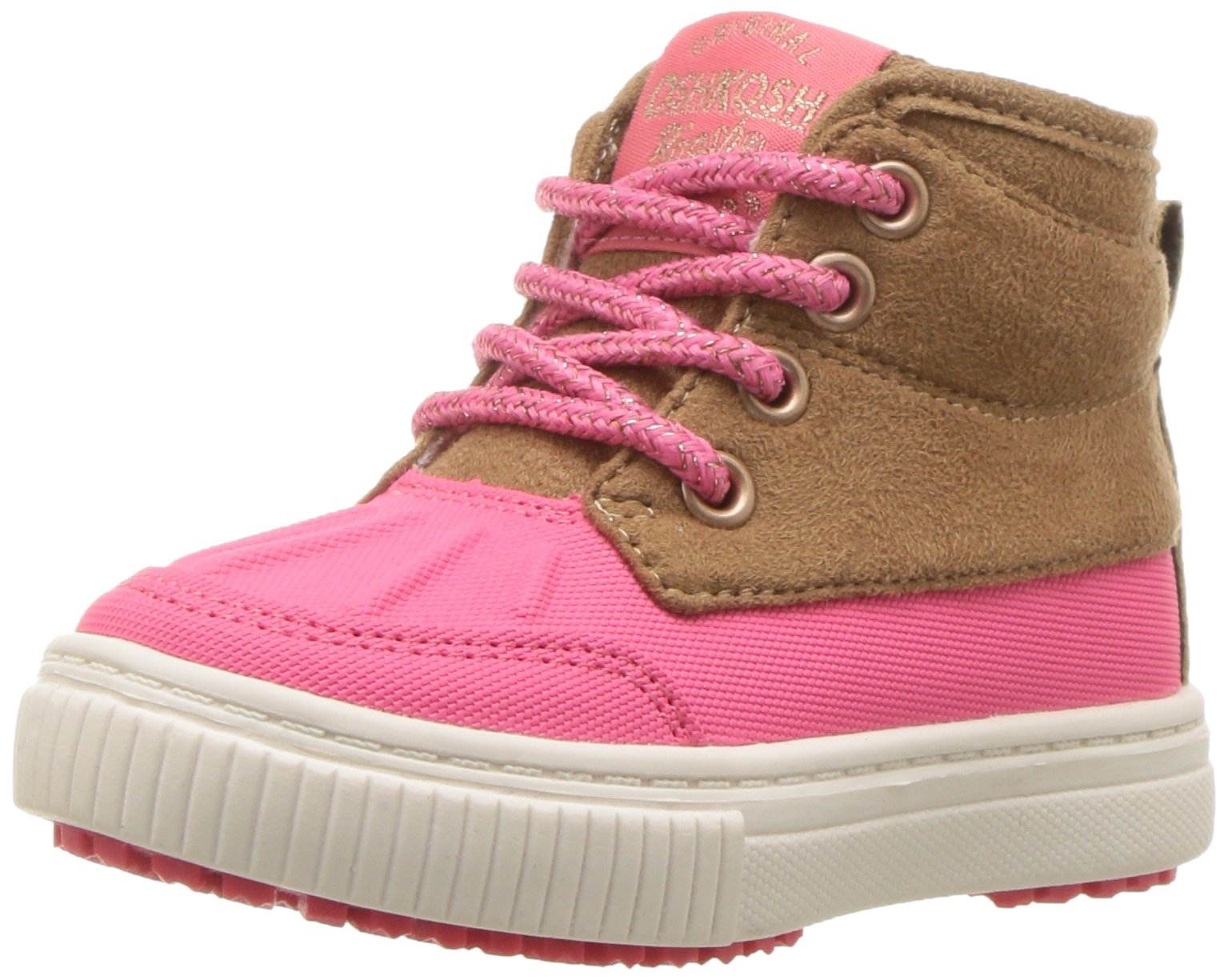 OshKosh B'Gosh Girls' Rafferty Fashion Boot, Pink, 1 M US Little Kid