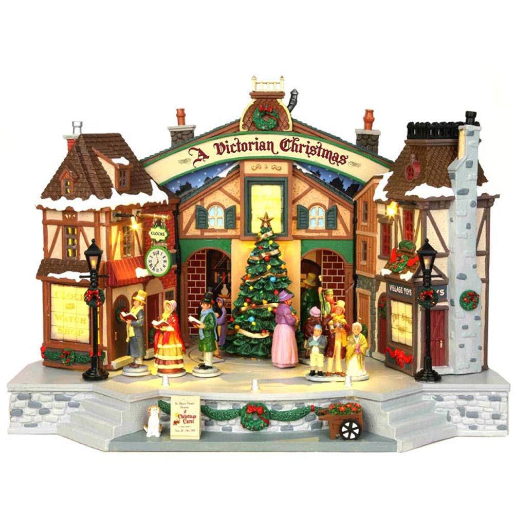 Lemax Village Collection A Christmas Carol Play with Adaptor   45734 by Lemax