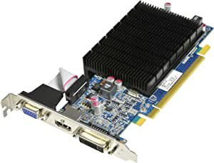 HIS Radeon HD 5550 Silence 1 GB (128 bit) DDR2 HDMI DL-DVI (HDCP) VGA PCI Express 2.1 16X Low Profile Video Card Retail (RoHS) H555HS1G
