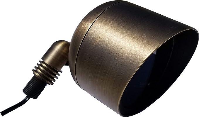 Amazon.com: Brass PAR36 - Lámpara de techo (12 V, con cable ...