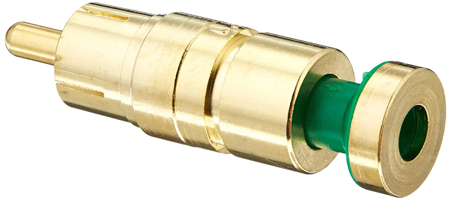 Platinum Tools 18265    RCA RGB Compression 24AWG 25-Pack Gold Plated