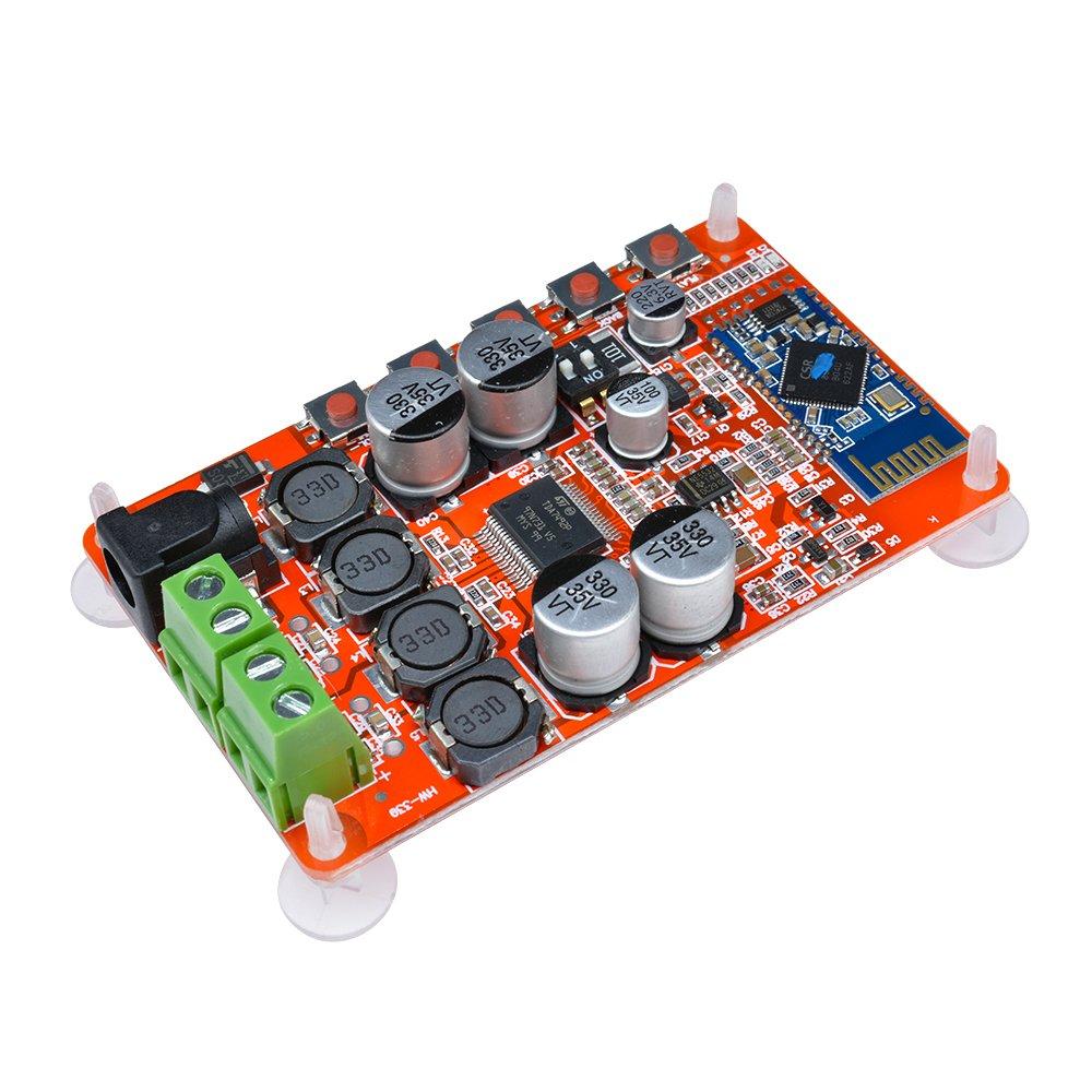 diymore amplificateur Board Tda7492p 50 W + 50 W Double Canal amplificateur numé rique sans Fil Bluetooth 4.0 ré cepteur Audio amplificateurs Board DIY Module D011827
