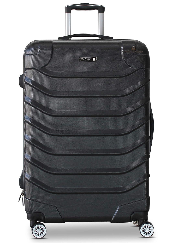 abbbecd6fb ORMI Set 3 Trolley Con 8 RUOTE Autonome in ABS Rigido Con Bagaglio a Mano  Mod.: 2026 (Argento): Amazon.it: Valigeria