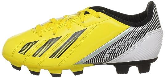 Adidas Performance F5 Trx Fg J G65429, Jungen Fußballschuhe, Gelb (vivid Yellow S13/black 1/green Zest S13), Eu 37 1/3 (uk 4,5)