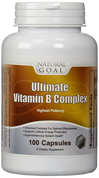 Amazon.com: Ultimate Vitamina B Complejo (High Potency ...