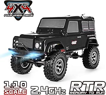 4X4 Off Road >> Rgt Rc Crawlers 1 10 Scale 4wd 4x4 Off Road Racing Rock Crawler With Remote Control Black