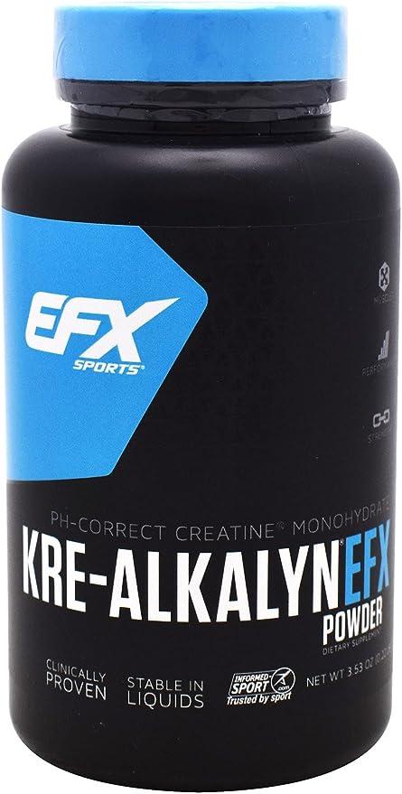 Creatina integratore muscolare kre-alkalyn efx powder 100 grams 737190002209 10418