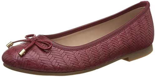 BATA Women s Weave Ballerina Red Ballet Flats  Buy Online at Low ... 594d9614d5