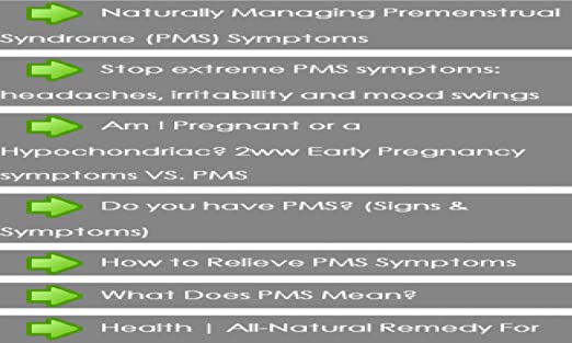 Amazon com: PMS Symptoms: Appstore for Android