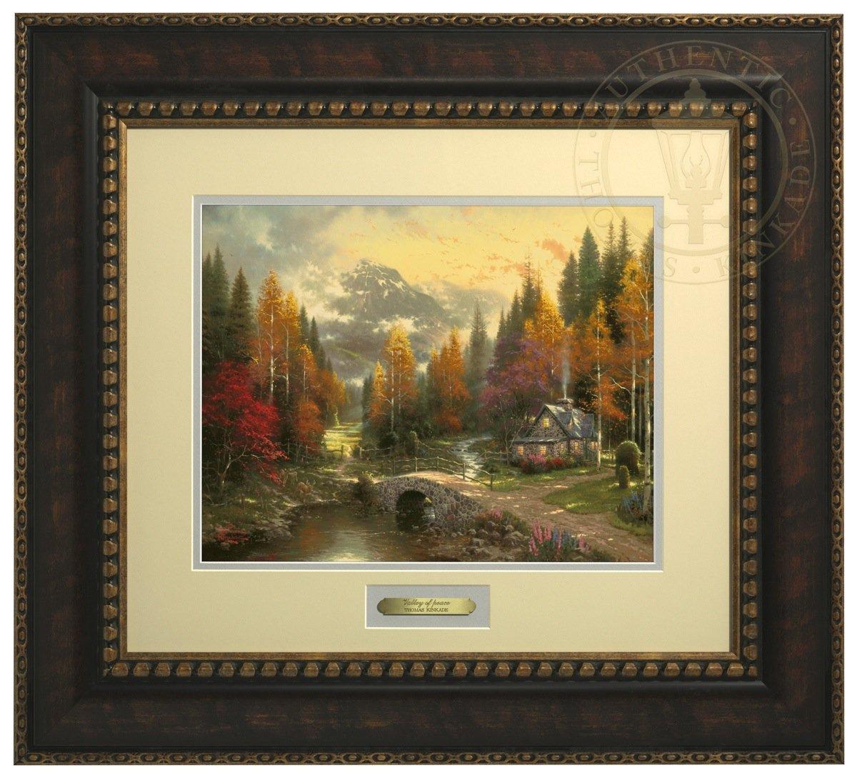 The Valley of Peace - Thomas Kinkade Prestige Home Collection (Bronze Frame) by Thomas Kinkade