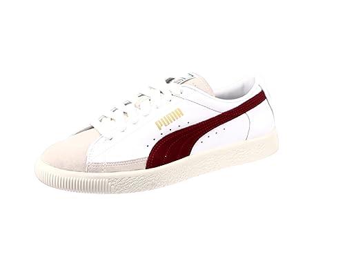 75ec08de6d Puma Basket 90680 (weiß/rot): Amazon.de: Schuhe & Handtaschen
