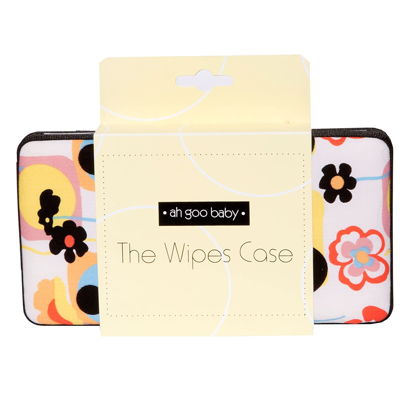 Ah Goo Baby Wipes Case On-The-Go Travel Size Gumdrop Pattern