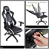 Merax PP036128KAA High Back Gaming Chair with