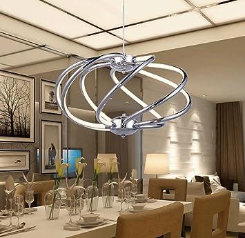 Bajian Li Retro Modern Modern Fashion Led Kronleuchter Wohnzimmer
